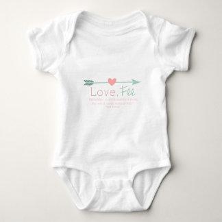 Love Fee Baby Bodysuit