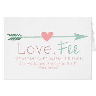 Love Fee Card