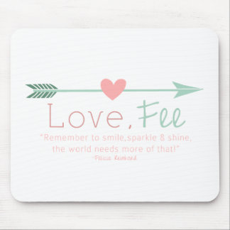 Love Fee Mouse Pad