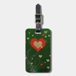 love feelings luggage tag