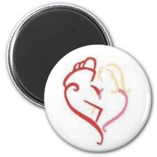 Love Fire Magnet