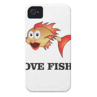 love fish iPhone 4 Case-Mate cases