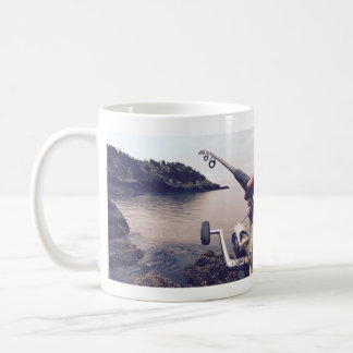 Love fishing coffee mug