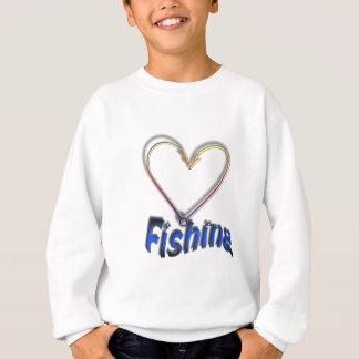 love fishing sweatshirt