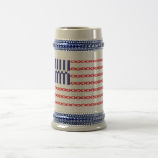 Love Flag Beer Stein