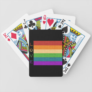 Love Flag Bicycle Playing Cards