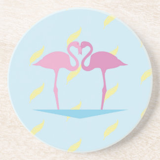 Love Flamingos Coaster