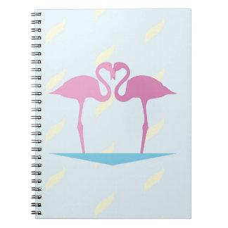 Love Flamingos Notebook