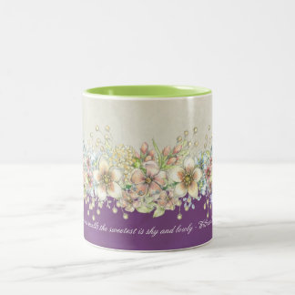 Love - Floral - Coffee Mug