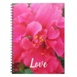 Love Flower Notebook