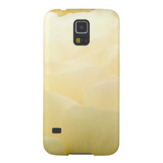 Love flower yellow galaxy s5 covers