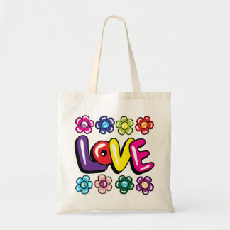 Love & Flowers Tote