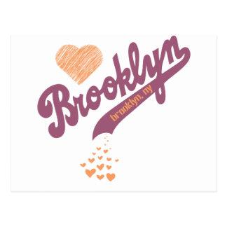 Love For Brooklyn Postcard