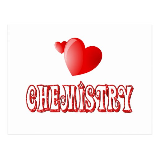 Love for Chemistry Post Cards