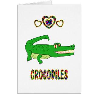 Love for Crocodiles Card