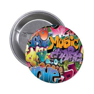 Love for Graffiti Pin