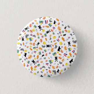 Love for Holland 1 Inch Round Button