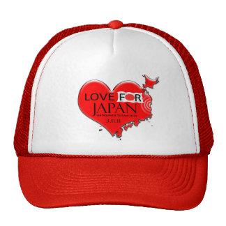 LOVE FOR JAPAN TRUCKER HAT