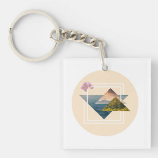 Love for nature keychain