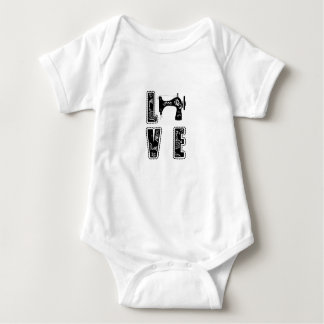 love for sewing baby bodysuit