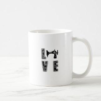 love for sewing coffee mug