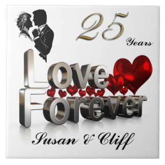 LOVE FOREVER TILE
