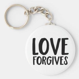 Love Forgives Keychain