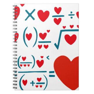 Love Formula Spiral Notebook