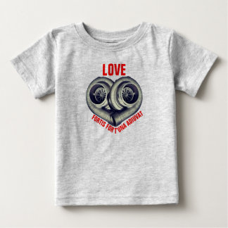 LOVE: FORTIS FORTUNA AUDIVAT BABY T-Shirt