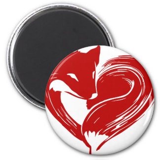 Love Foxes Magnet