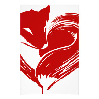 Love Foxes Stationery