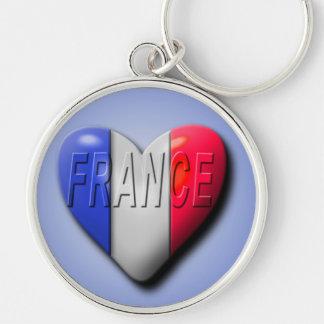 Love France Keychain