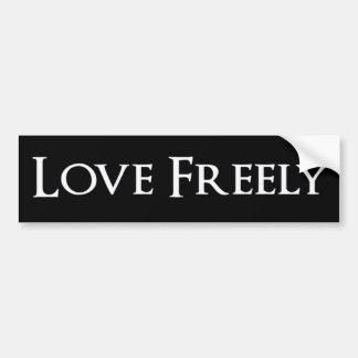 Love Freely Sticker
