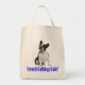 Love French Bulldog Puppy Dog Tote Bag