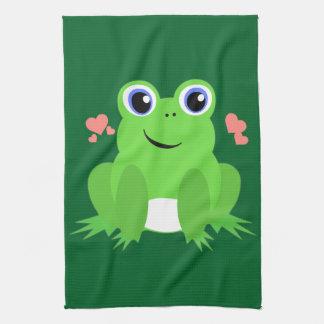 Love Frog Kitchen Towel