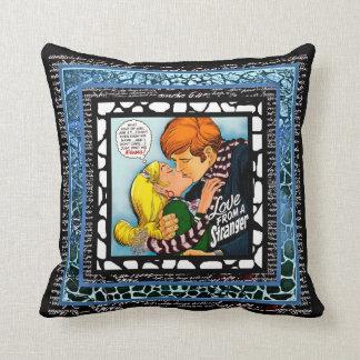 Love From A Stranger Throw Pillow