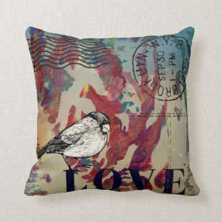 Love from Brooklyn Throw Pillow