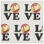Love From Spain Smiling Flag Fabric