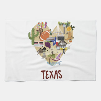 Love from Texas Towel