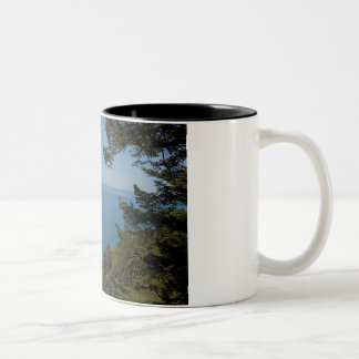 Love From The North Coast Two-Tone Coffee Mug