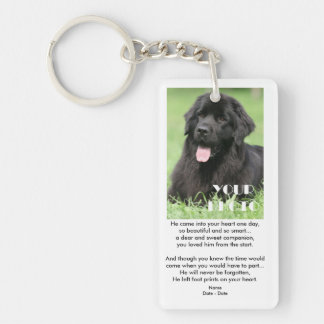 Love From The Start (Male) Pet Memorial Keychain