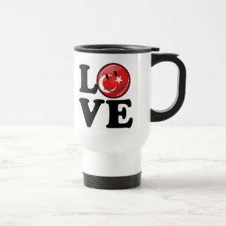 Love From Turkey Smiling Flag Travel Mug