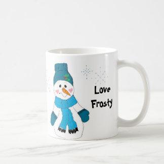 Love Frosty Classic White Coffee Mug