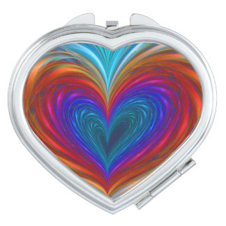 Love Full Of Color Compact Mirror