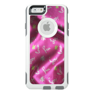 Love,Fun and Joy-Silk,pink OtterBox iPhone 6/6s Case