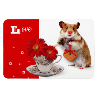 Love. Fun Hamster Mother's Day Gift Magnet