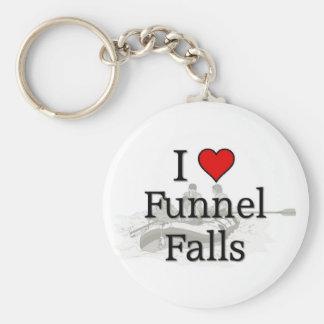 Love Funnel Falls Keychain