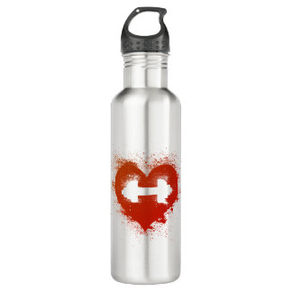 Love Gains - Weight Training 710 Ml Water Bottle