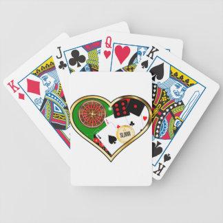 Love Gambling Bicycle Playing Cards