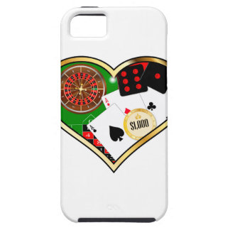 Love Gambling Case For The iPhone 5